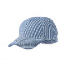 Καπέλο ριγέ βαμβακερό για αγόρι