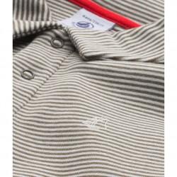Boy's milleraies-striped polo