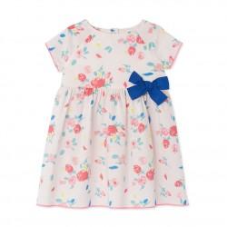 Φόρεμα κοντομάνικο με σχέδιο για μωρό κορίτσι