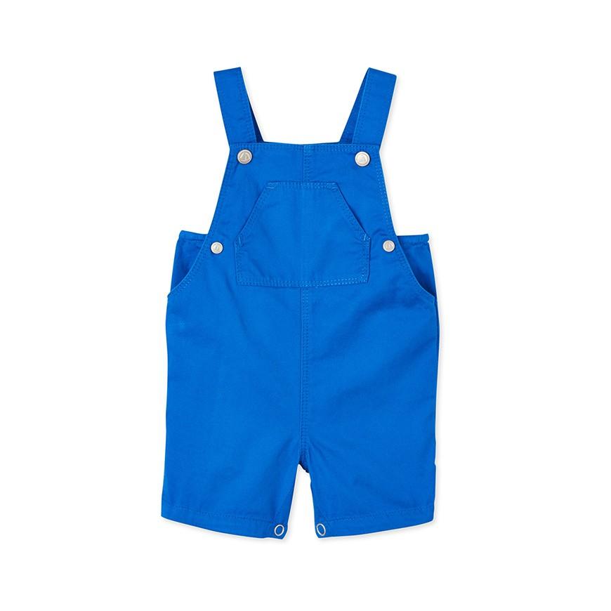 e3be9bba7708 Baby boys  striped short dungarees - petit-bateau.gr