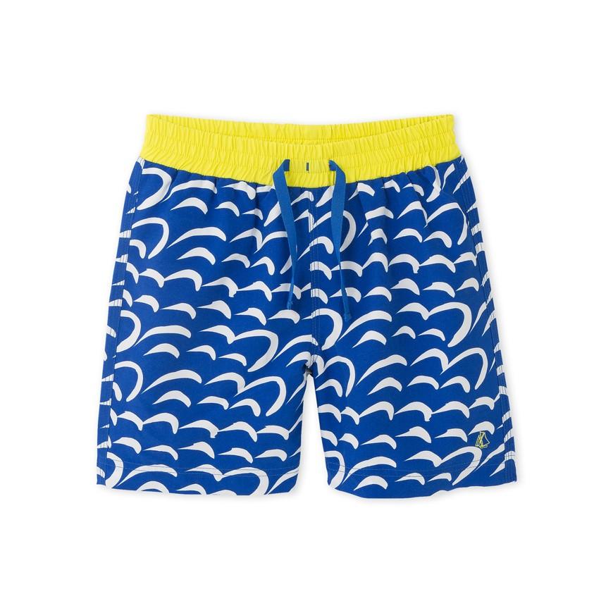 a536cdc3b4 Boys' printed swim shorts - petit-bateau.gr