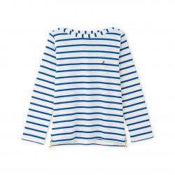 Boys' long-sleeved striped T-shirt