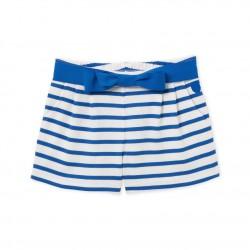 Girls' shorts in heavyweight jersey