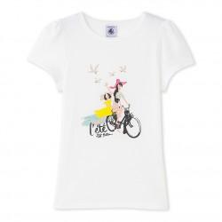 Girl's T-shirt with motif