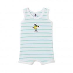 Baby boy's tank-top bodysuit
