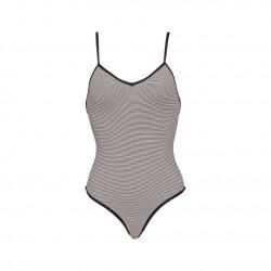 Women's milleraies striped one-piece swimsuit