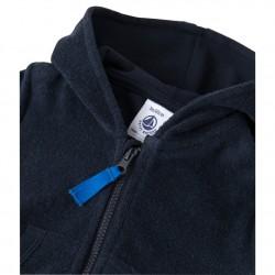 Baby boys' zippered sweatshirt