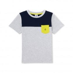 Boys' three-colour T-shirt