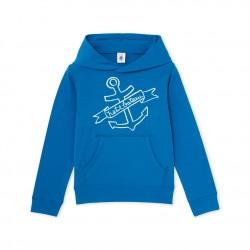 Boys' hooded sweatshirt