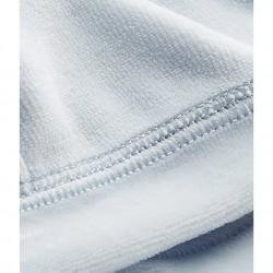 Newborn baby's unisex velours beanie cap