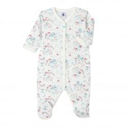 Baby boy's printed sleeper