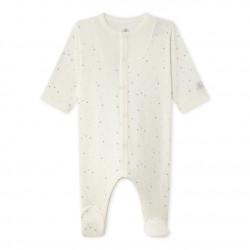 Baby's unisex printed tube knit sleeper