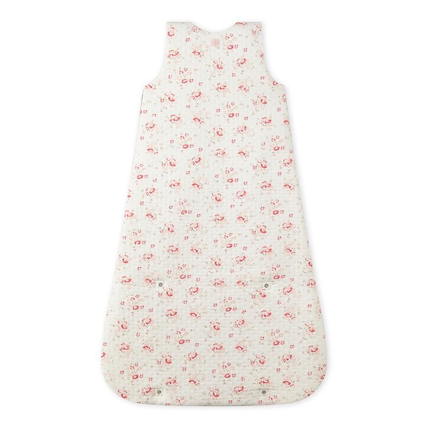 Baby\'s bunting bag in printed tube knit - petit-bateau.gr
