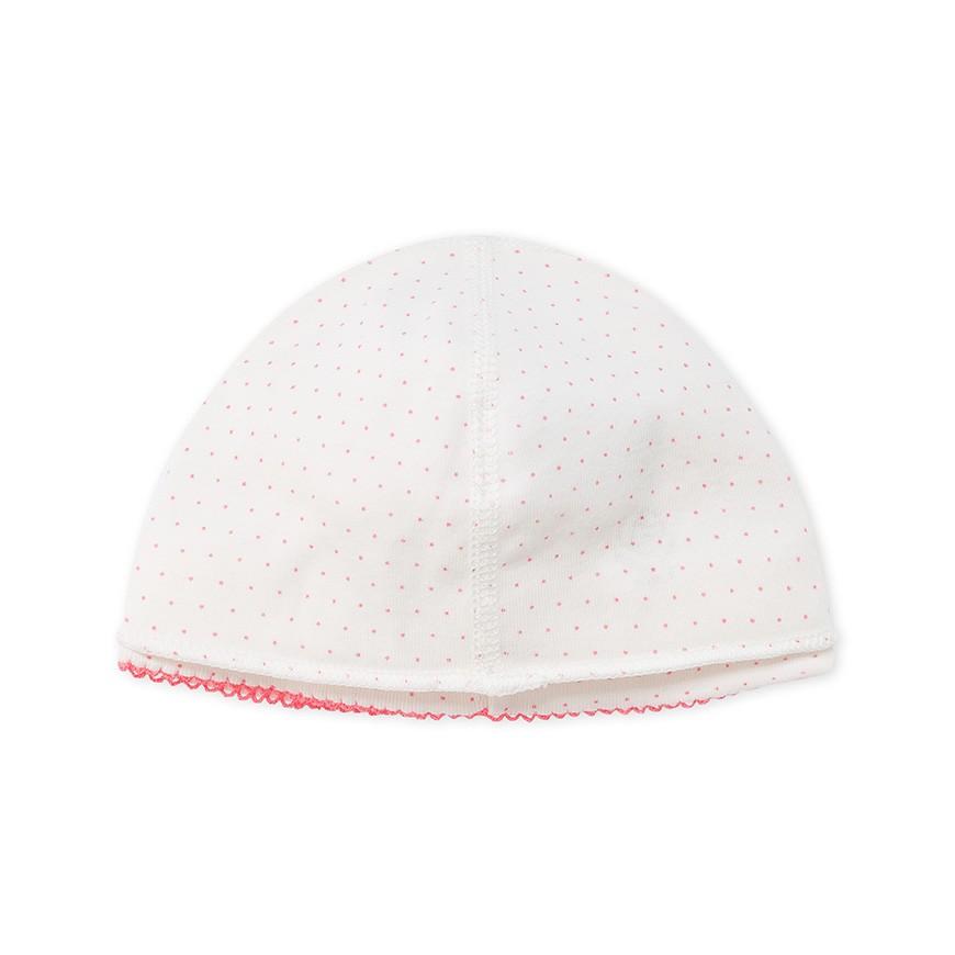 Newborn baby girl s printed beanie cap - petit-bateau.gr 3fe44c125a65