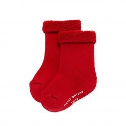 Baby terry cloth socks