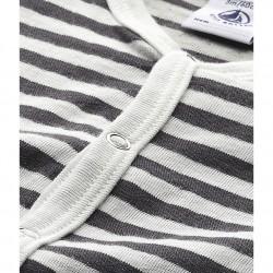 Baby boy's striped sleeper