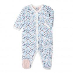 Baby girl's reversible sleeper