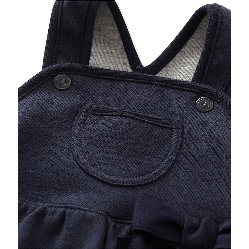 baby girl 39 s fleece overalls petit. Black Bedroom Furniture Sets. Home Design Ideas