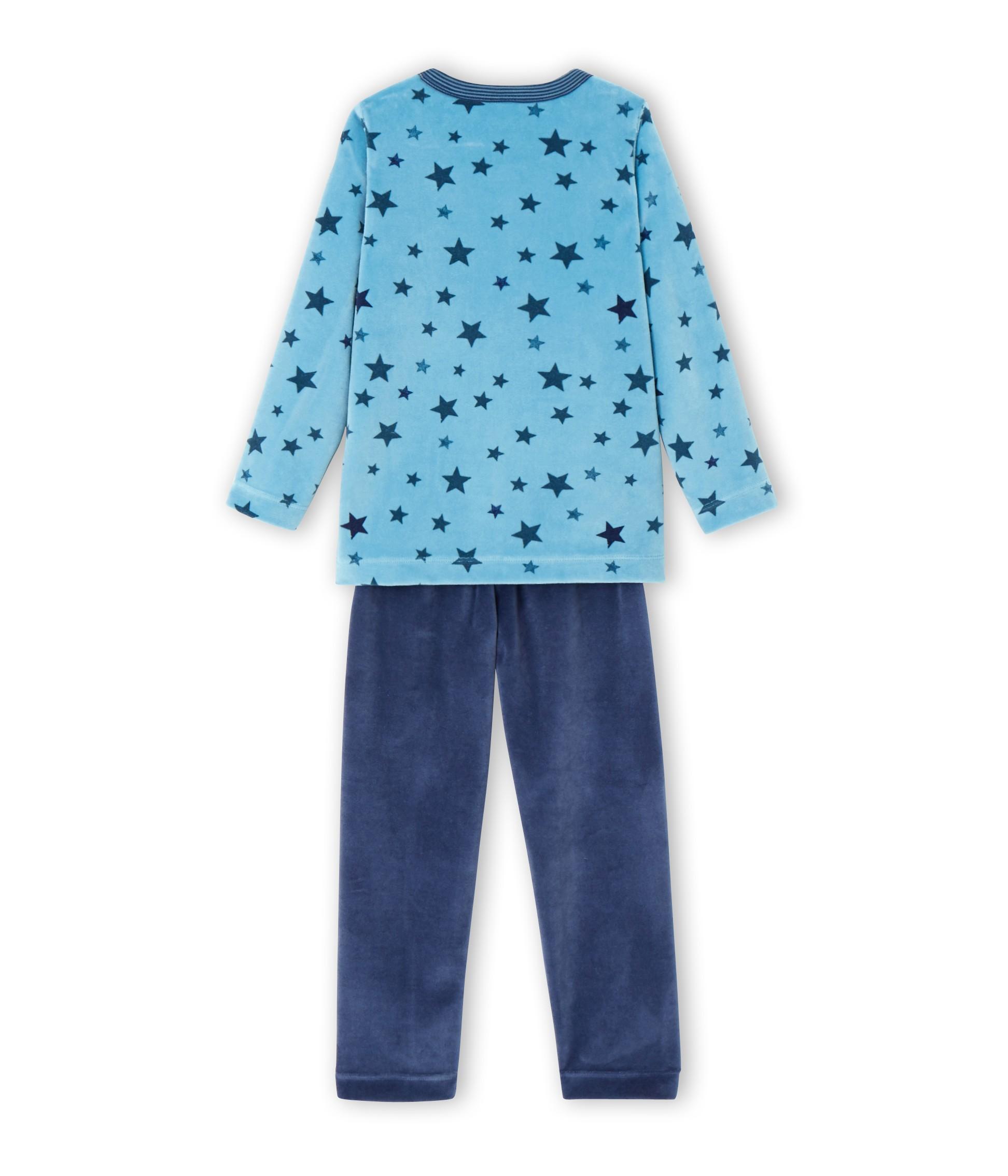 e80a4d93ce82 Boy s star print pyjamas - petit-bateau.gr