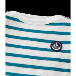 Baby boys' heavy jersey sailor top