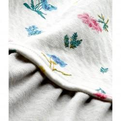 Σκουφάκι με σχέδιο από μαλακό βαμβάκι για μωρό κορίτσι