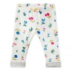 Baby girl's print pants