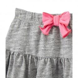 Girl's shorts in heavyweight jersey