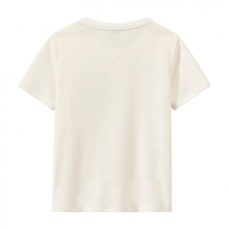 Boy's T-shirt with Tunisian collar