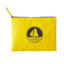 Women's plain waterproof clutch bag