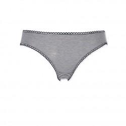 Women's second skin effect milleraies-striped pants