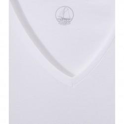 Women's v-neck light cotton tee