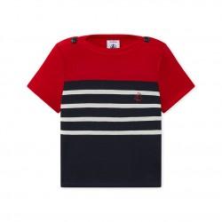 Baby boy's light jersey T-shirt