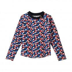 Girl's sweatshirt in light cotton fleece