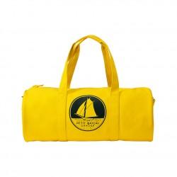 Rubber oilskin travel bag