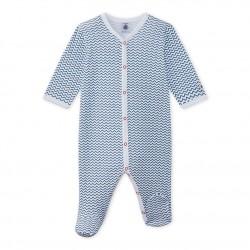 Baby boy's print sleepsuit