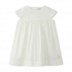 Baby girl's poplin dress