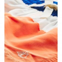 Boys' tricolour swim shorts