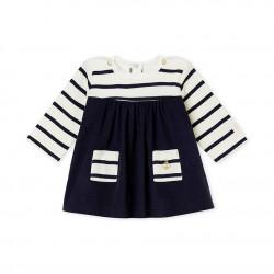 Φόρεμα μωρού μαρινιέρα