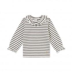 Μπλουζάκι για μωρό κόρίτσι ριγέ