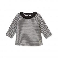 Μπλούζα ριγέ για μωρό κορίτσι