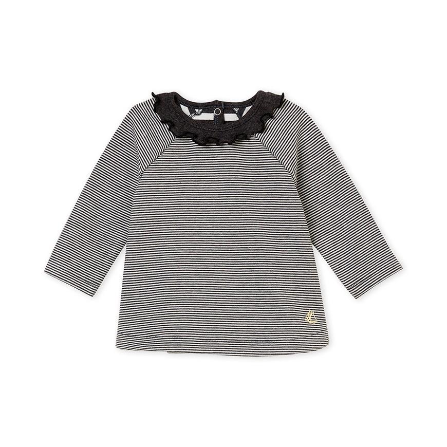 c520478dce52 Μπλούζα ριγέ για μωρό κορίτσι - petit-bateau.gr