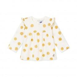 Μπλουζα για μωρό κορίτσι με σχέδια