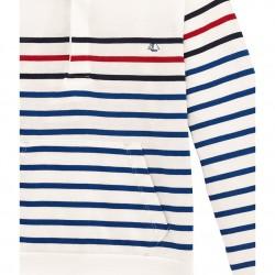 Μακρυμάνικη μπλούζα με κουκούλα