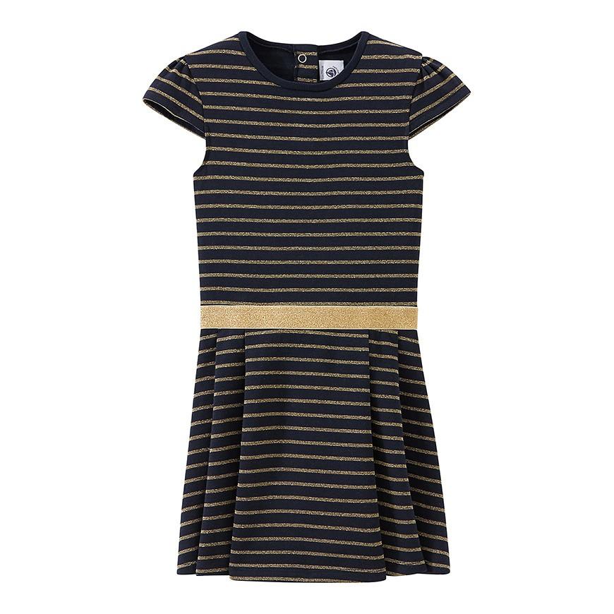 2944ef75a302 Φόρεμα ζέρσευ εορτασικό με γκλίτερ - petit-bateau.gr