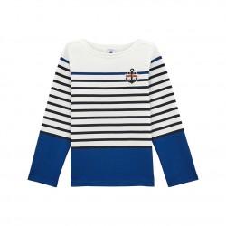 Ναυτική μπλούζα για αγόρια
