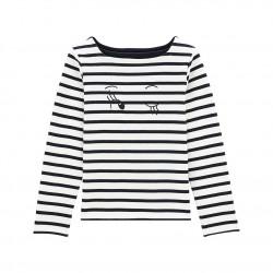Μπλούζα μαρινιέρα για κορίτσια