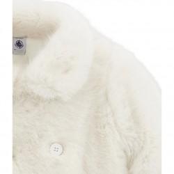 Παλτό από οικολογική γούνα για κορίτσια