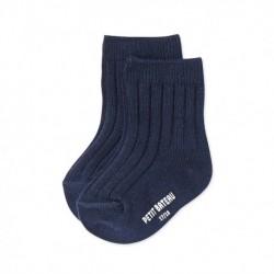 Plain babies' socks