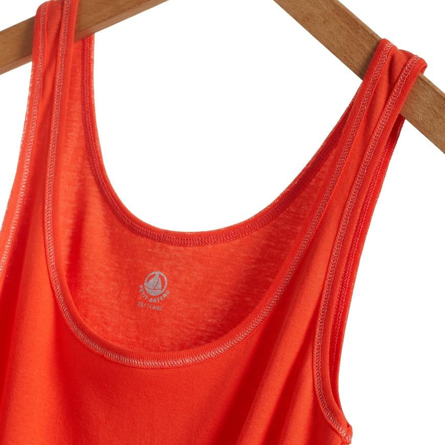 Women s light cotton vest top - petit-bateau.gr 2c63a495a91