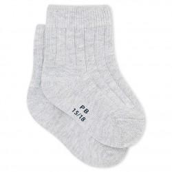 Κάλτσες μονόχρωμες για μωρό